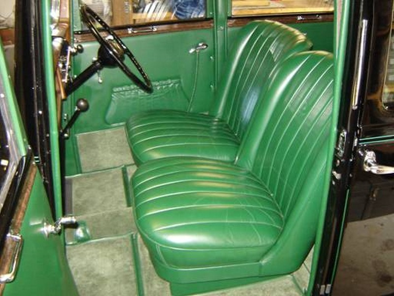 1936 austin 10 sherborne saloon pauls custom interiors auto upholstery restoration. Black Bedroom Furniture Sets. Home Design Ideas