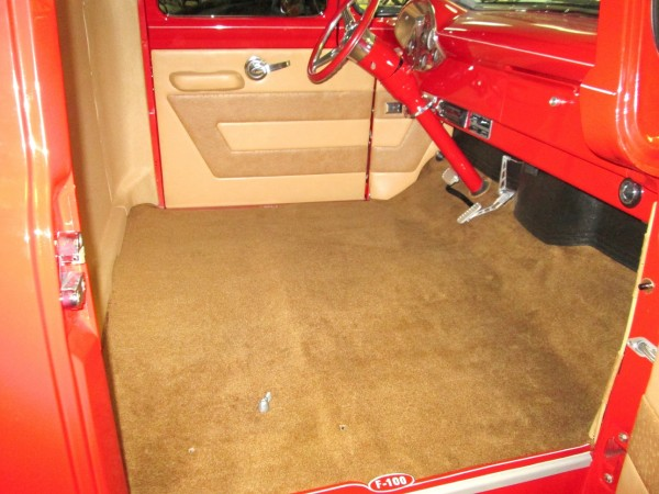 1956 ford f100         05 Interiors