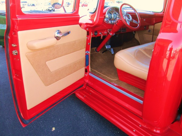 1956 ford f100         08 Interiors