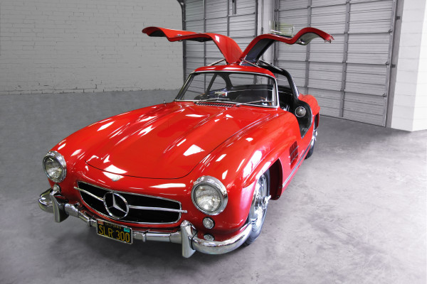 1961 mercedes gullwing a2