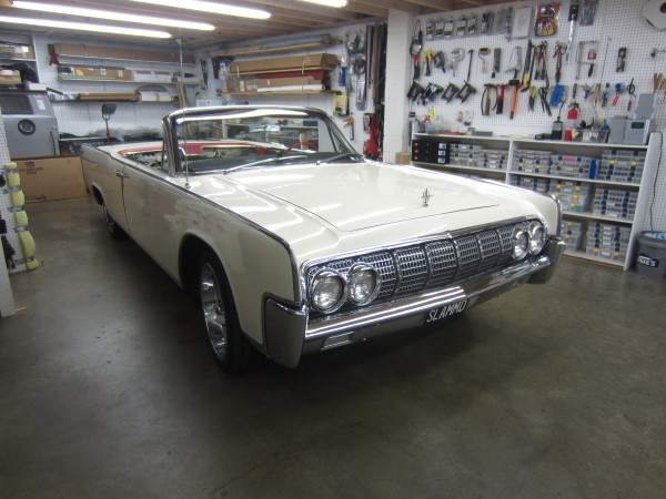 1964 lincoln  continental 01 before