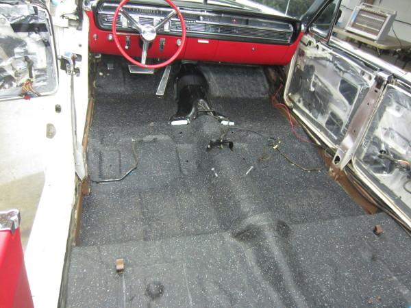 1964 lincoln continental 04 floor rubber recast mat